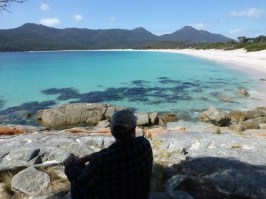 Wineglass Bay -the lunch spot