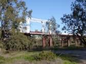 Old bridge crossing the Darling at Bourke.