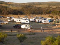 Campsite in the early evening