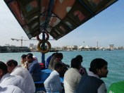 Water taxi across Dubai Creek
