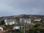 Homes above Kyle