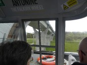 Falkirk Wheel - on the way up