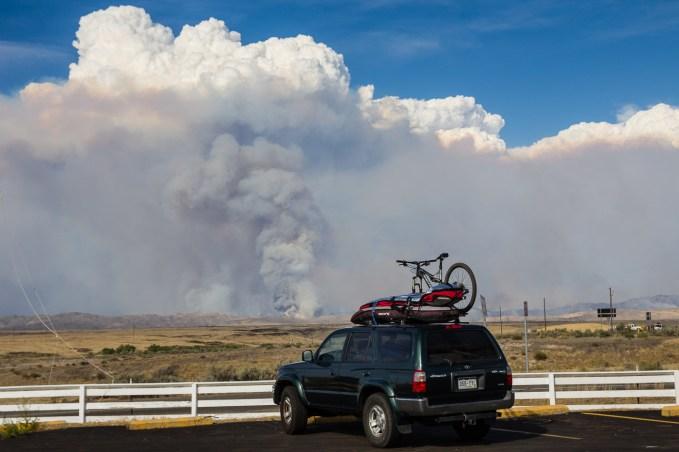 Fire outside of Boise