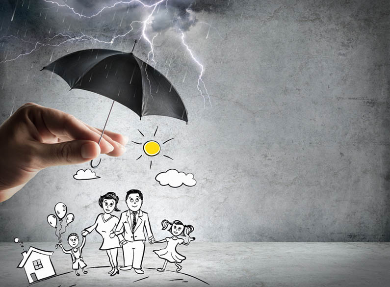 protezione casa e protezione figli