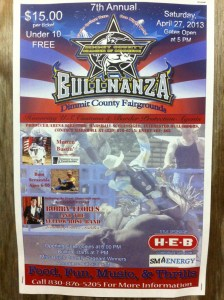 Bullnanza Carrizo Flyer
