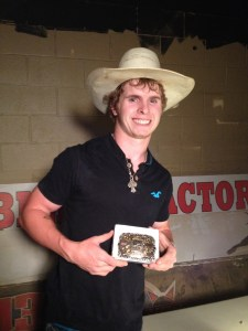 Lane Nobles wins the September 21, 2013 PBR at Cowboys Dancehall