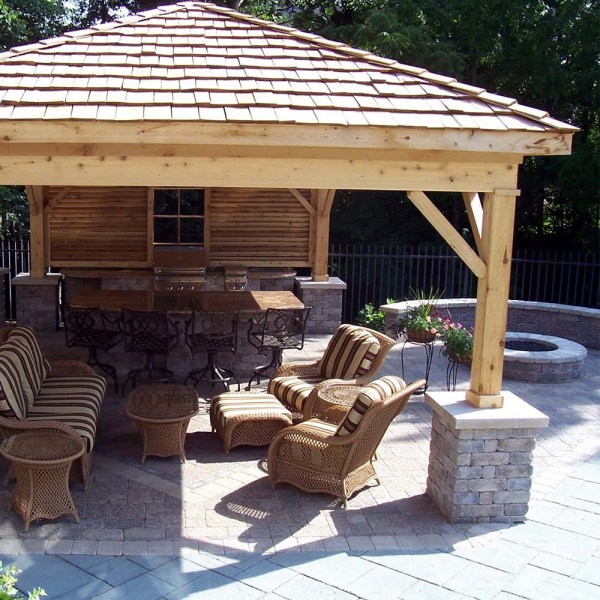 covered outdoor living patio Covered Outdoor Living Spaces | Custom Outdoor Living