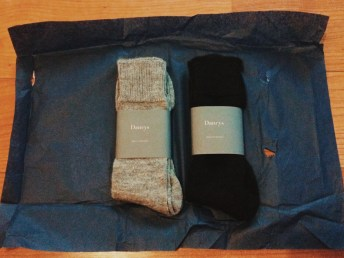 Dancys Alpaca socks breaking free