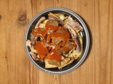 Superbowl Chicken Nachos - Courtesy of Frank's RedHot