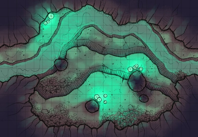 Glowing Cavern (1)