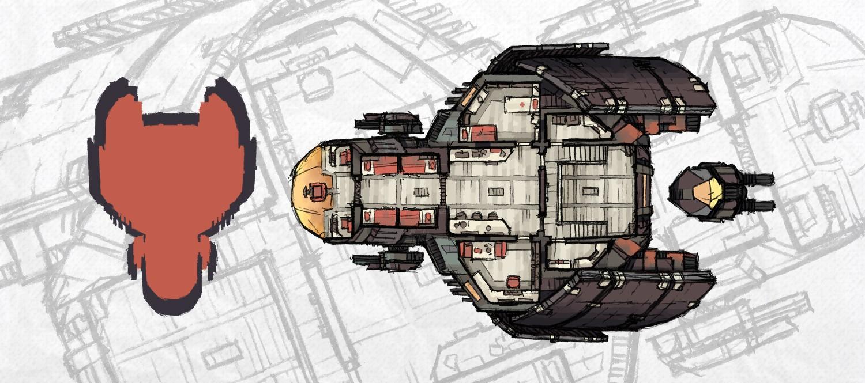 Hound-class Spaceship Map