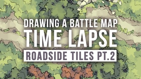 Roadside Battle Map Tiles Video Thumbnail NEW