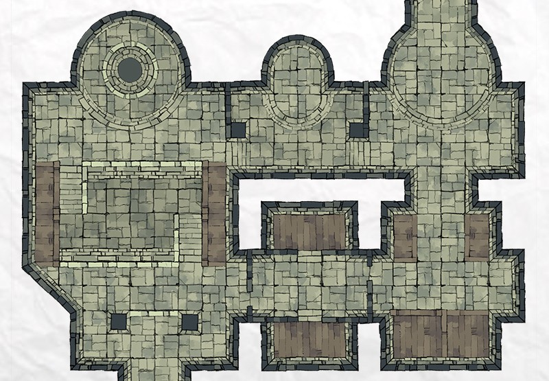 Dungeon Room Builder Demo Map