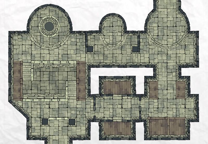 Dungeon Room Builder Demo Map