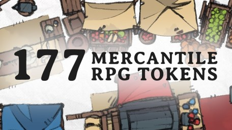 Mercantile Tokens, banner