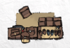 Mercantile Tokens, leatherworker