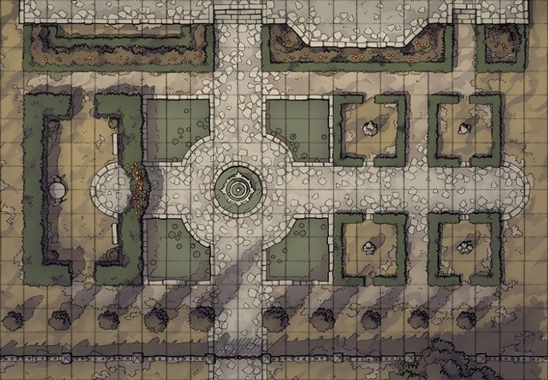 Haunted Mansion Rpg Building Map By 2 Minute Table Top