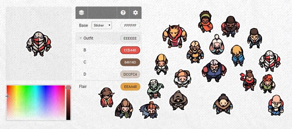 Hero Character Tokens 3, Banner