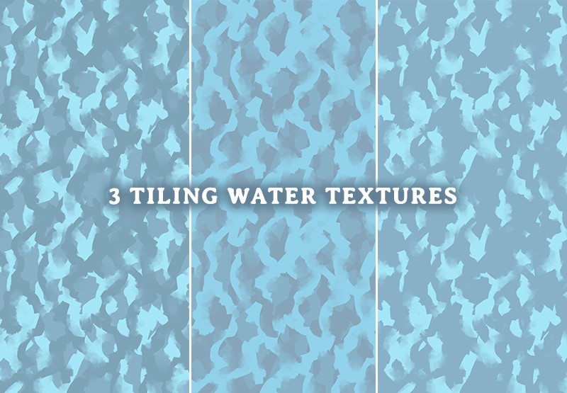 River & Water RPG Textures & Assets, tiling water textures