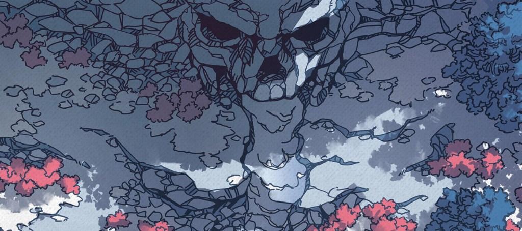 Cursed Cave battle map, banner