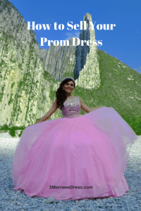 How to Sell Your Prom Dress Pin