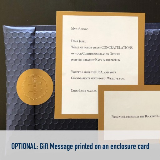 Gift Messaging available on all 2MyHero military greeting card orders
