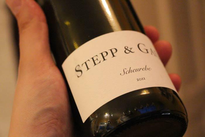 Stepp & Gaul: 2011 Scheurebe
