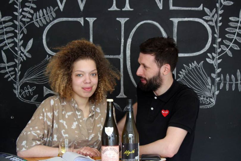 Florian Tonello and Milena Bucholz from 259 Hackney Road