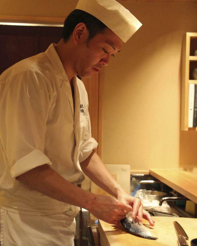 Junichi: the chef of the Isana