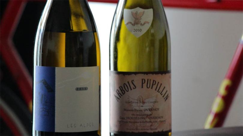 A 2010 Maison Pierre Overnoy Chardonnay and the 2011 Les Alpes from Maison Belluard