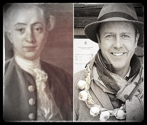 Separated At Birth? Hmmm... Myself and Casanova (left to right)