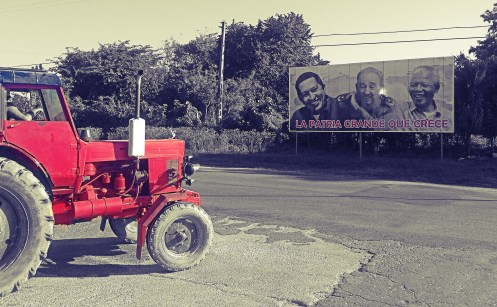 'Brothers' and The Red Tractor, Santa Clara