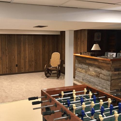 lowe basement