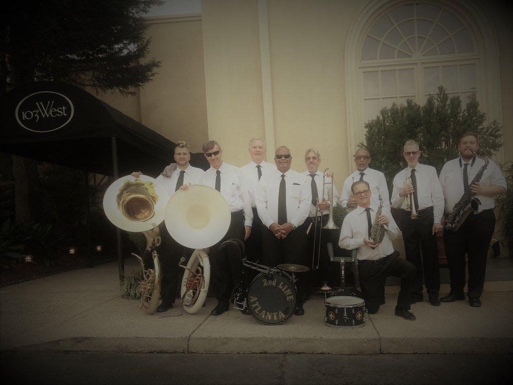 2nd Line Atlanta Band. September 2018.