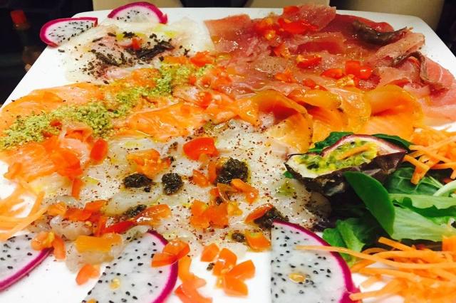 crudop tuscolano crudo di pesce pesce crudo roma ristorante wine bar