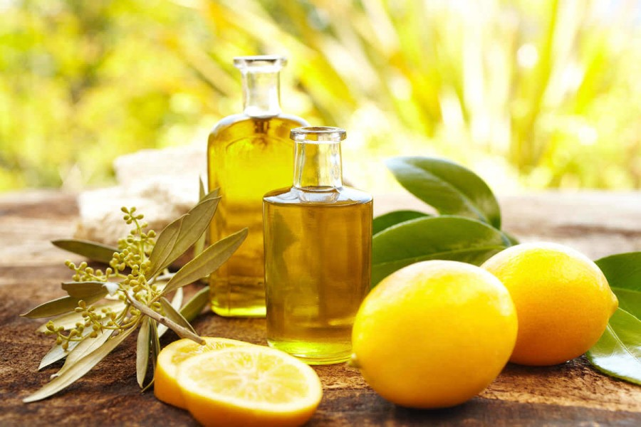 Splitting hair  Trasitional remedies of care about splitting hair     Poultice of olive oil and lemon juice