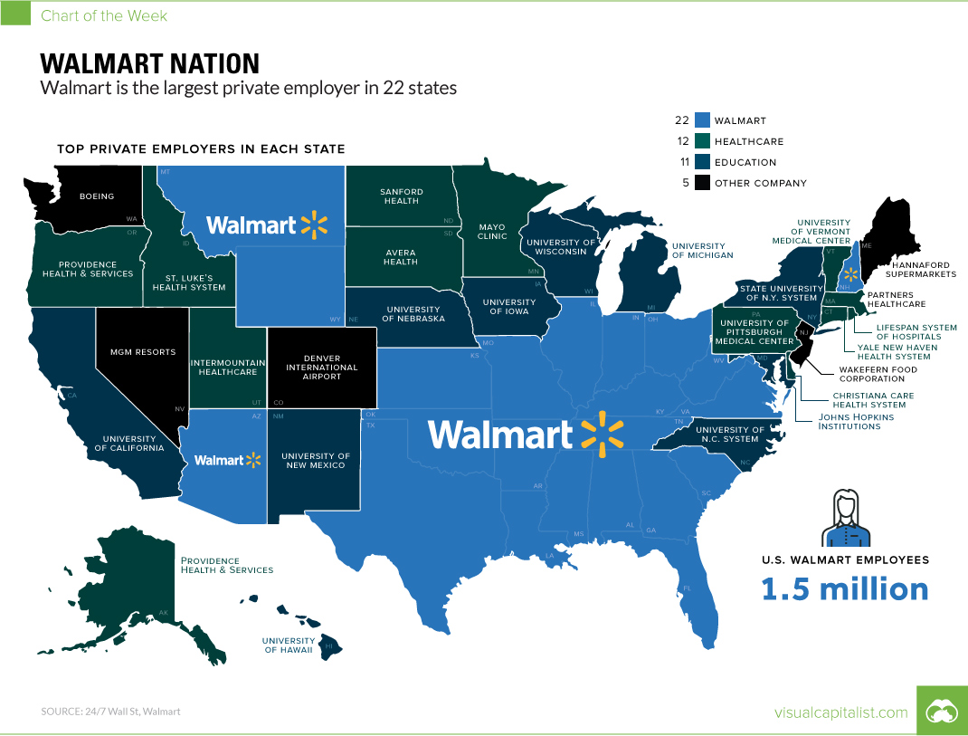 Nation Population Growth Map