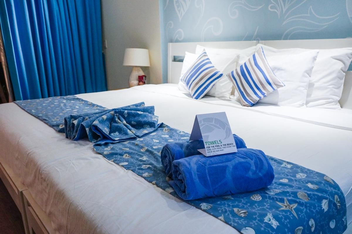 海崖度假酒店池景雙人間 超大雙人床
