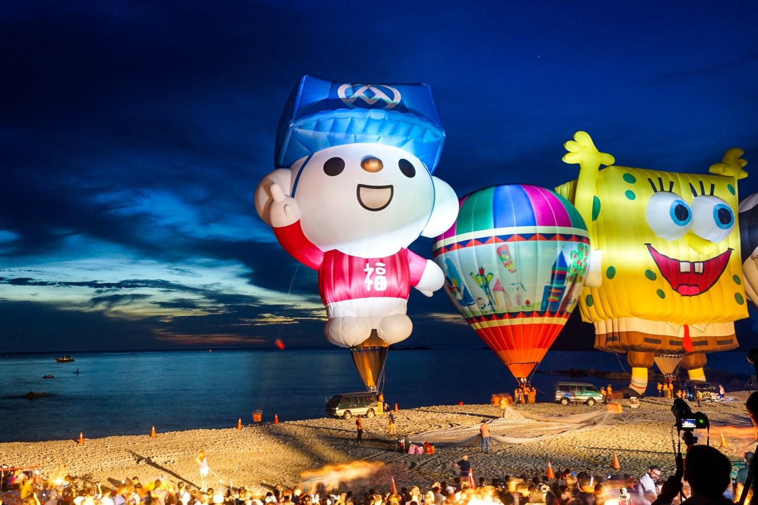 2019三仙台熱氣球嘉年華光雕音樂會