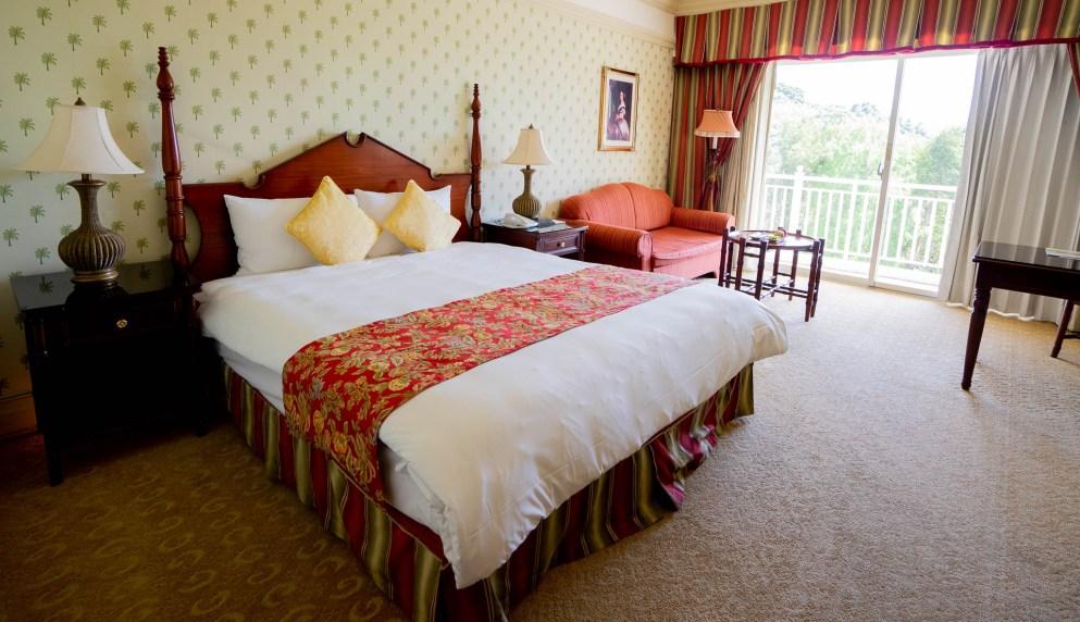 花蓮遠雄飯店山景雙人房,復古裝潢特色充滿維多利亞風情!