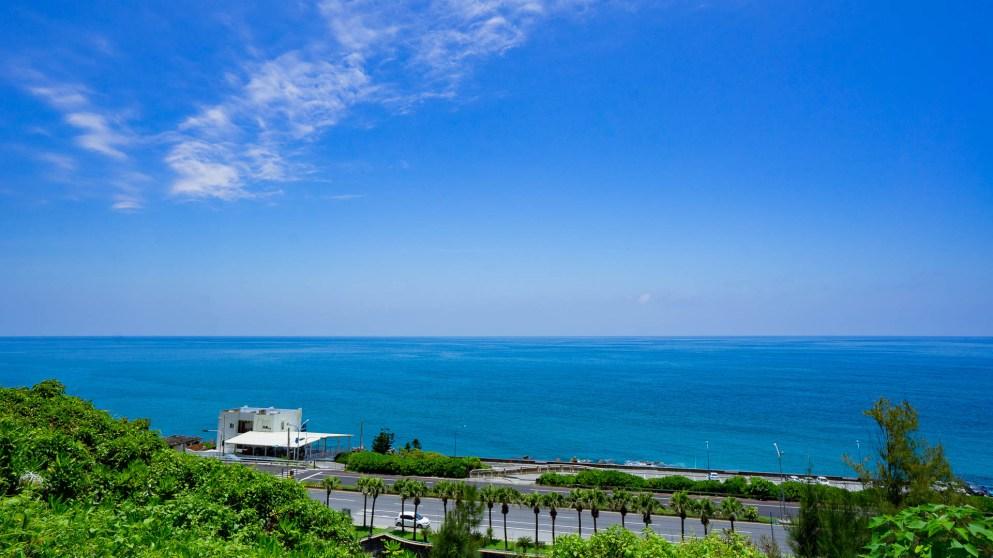 ▲鄰近太平洋,花蓮海洋公園天德獨厚風景