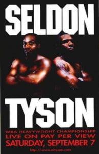 Mike Tyson vs. Bruce Seldon Poster