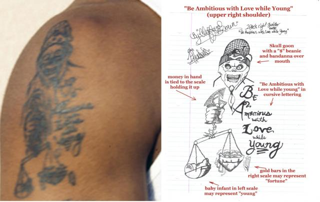 Tupacs Tattoos What Is The Meaning Of 2pacs Tattoos Photos