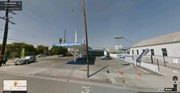 Carwash where ''Baby Lane'' was shot in Compton.