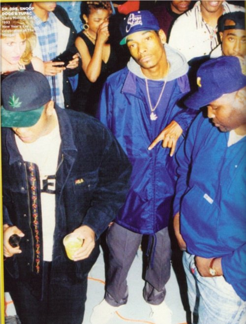 tupac Dre, Snoop at the Hanger in Santa Monica