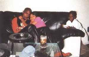 Tupac and Kidada Jones, August, 1996.
