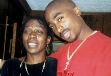 Tupac and Afeni Shakur