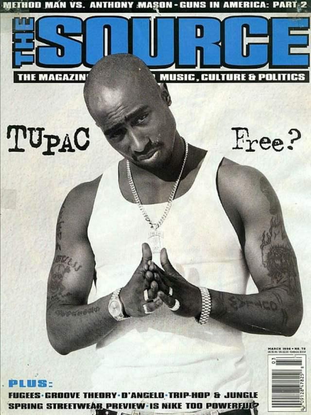 the source magazine tupac