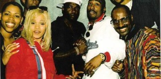 Rare photo of 2Pac & Faith Evans, October 13, 1995