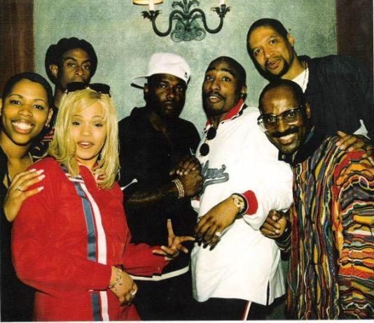Rare photo of 2Pac & Faith Evans, October 13, 1995